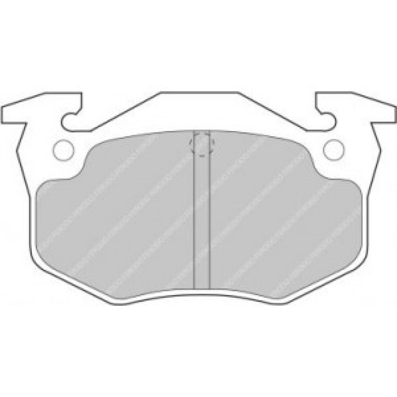 Ferodo DS2500 Citroen ZX 1.9 TD Volcane Rear Brake Pads