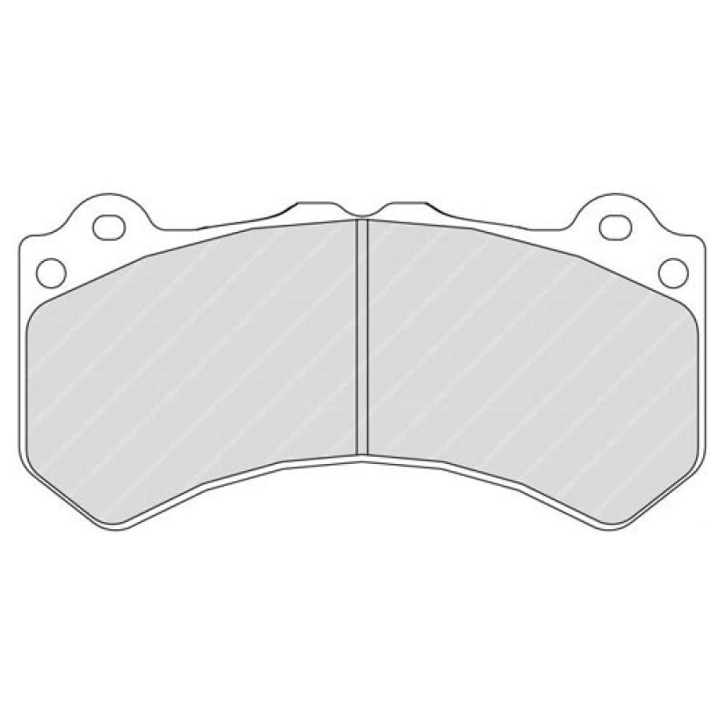 Ferodo DS2500 Front Brake Pads for Nissan Skyline GTR R35