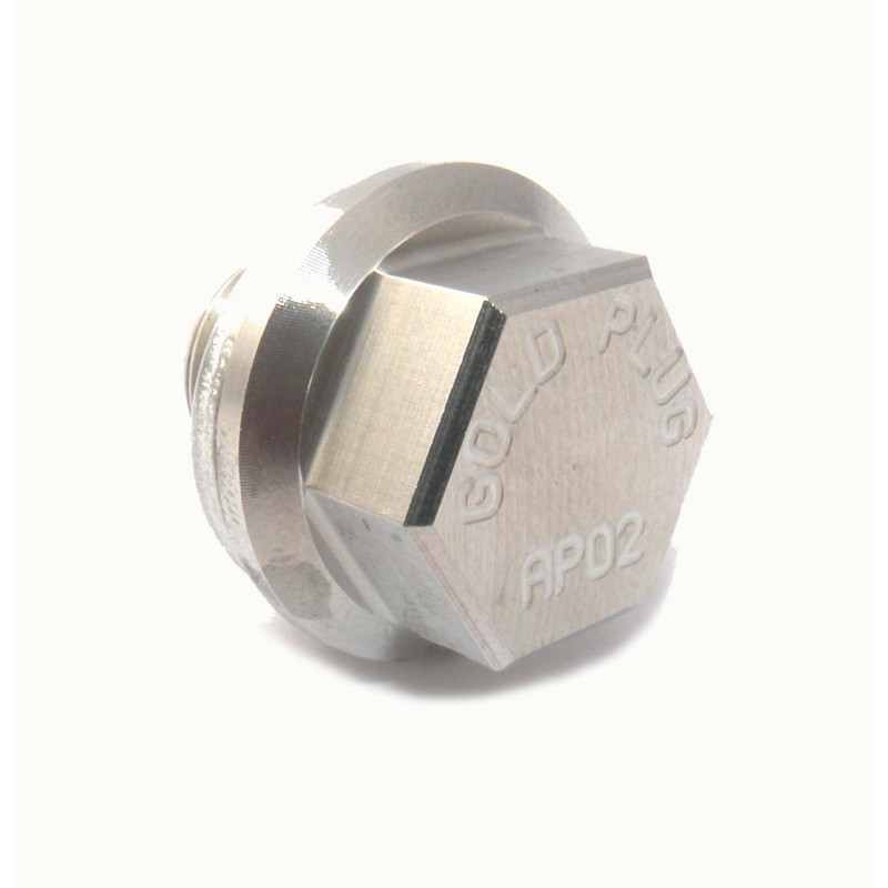 Gold Plug Magnetic Sump Plug With Washer M14 x 1.5 AP-02