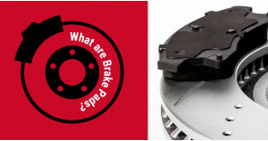 What are brake pads?