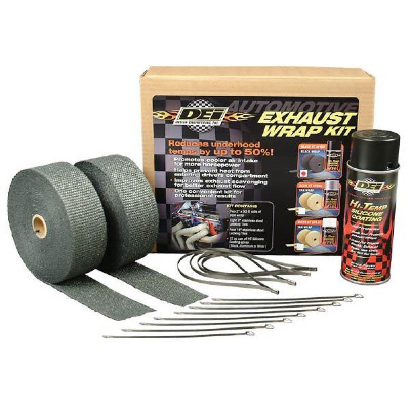 Car Exhaust Wrap Kit