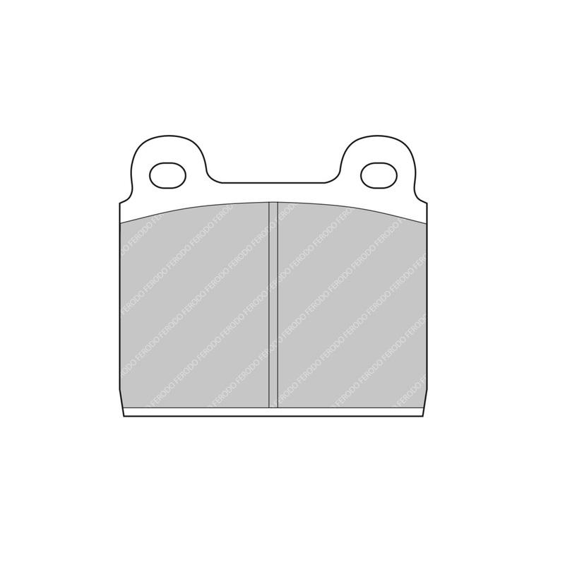 Ferodo Racing Brake Pad FCP11