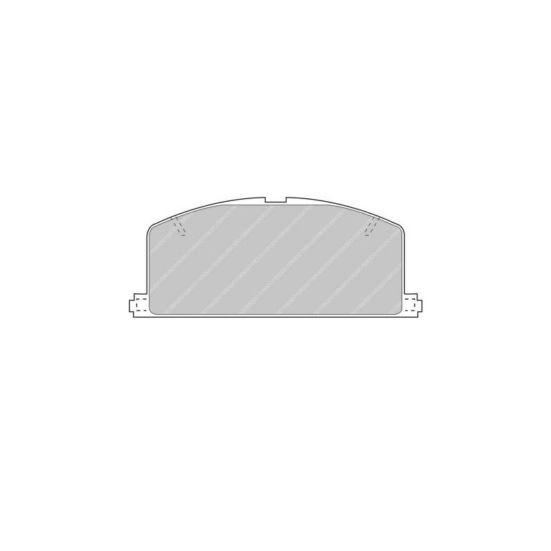 Ferodo Racing Brake Pad FCP308