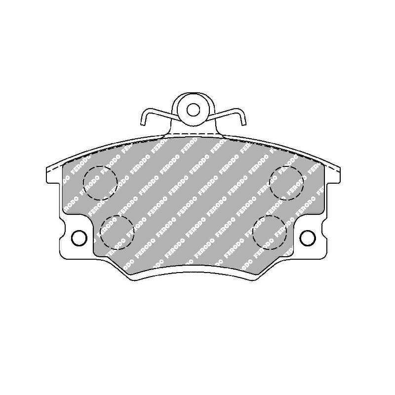 Ferodo Racing Brake Pad FCP370