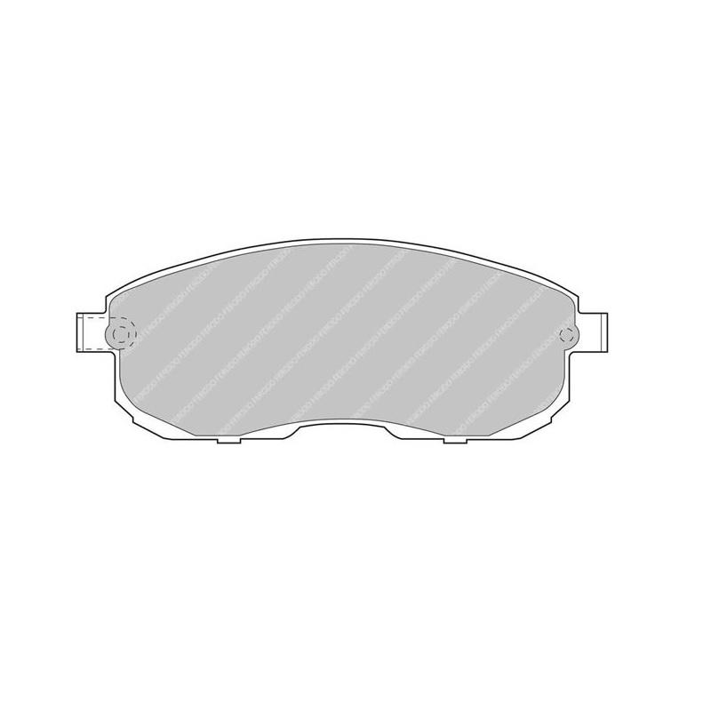 Ferodo Racing Brake Pad FCP691