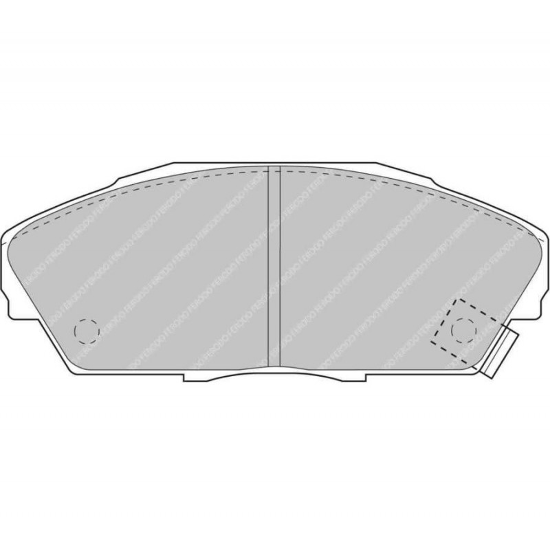 Ferodo Racing Brake Pad FCP748