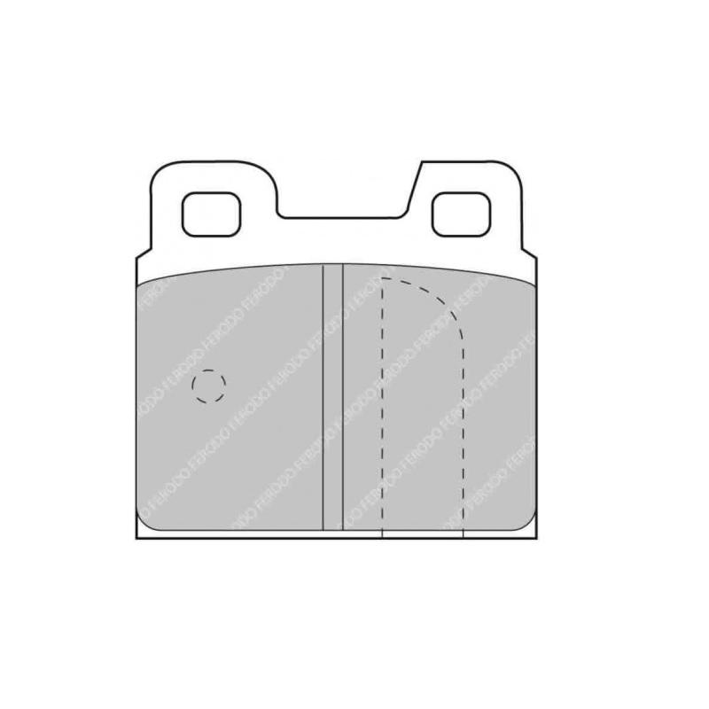 Ferodo Racing Brake Pad FCP93