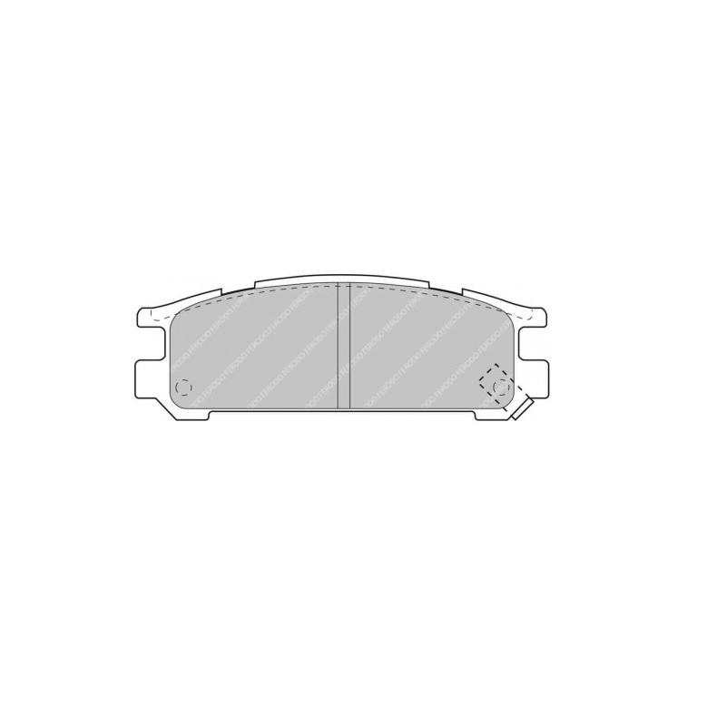 Ferodo Racing Brake Pad FCP790