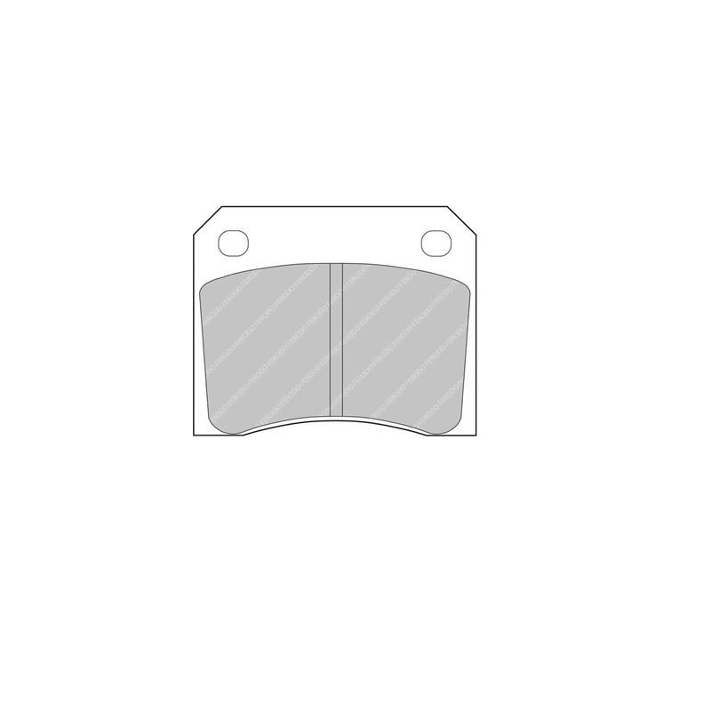 Ferodo Racing Brake Pad FCP815