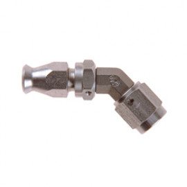 Stainless Steel Metric 45 Degree FORGED Female DOUBLE Swivel Fitting