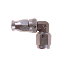 Stainless Steel Metric 90 Degree FORGED Female DOUBLE Swivel Fitting