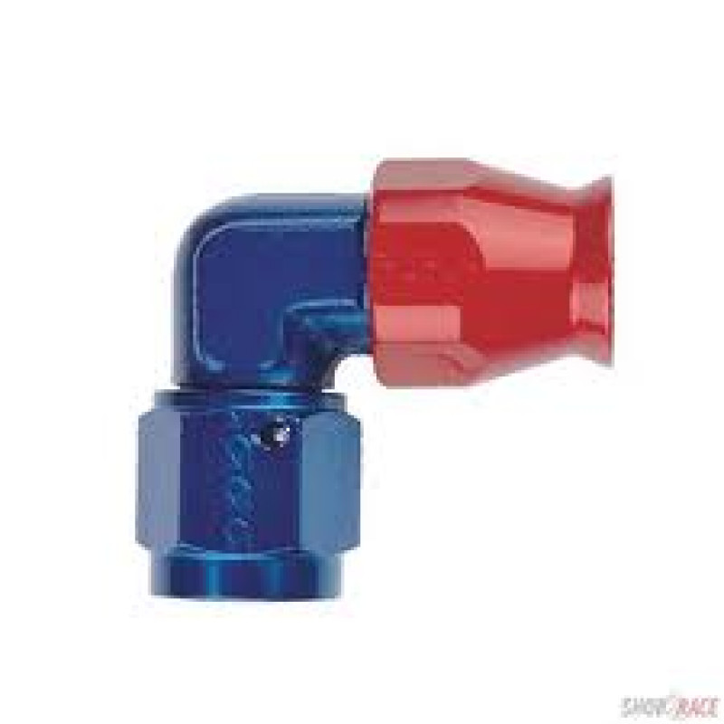 Anodised Aluminium JIC 90 Degree FORGED Female Swivel Fitting