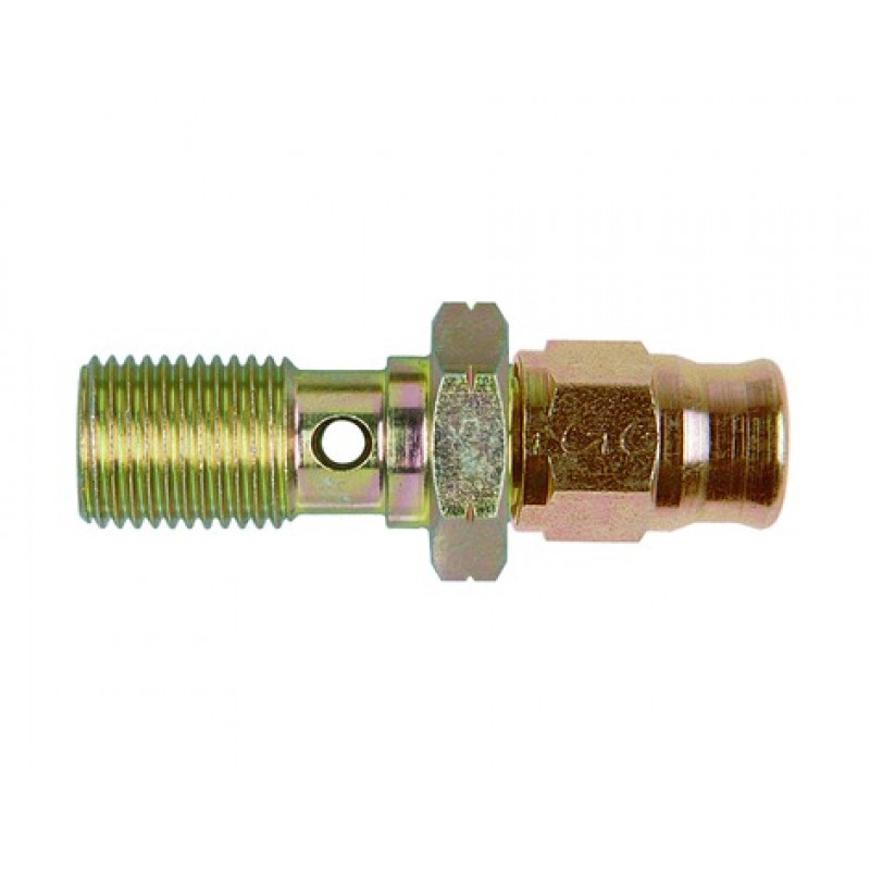 Zinc Plated Steel Metric Banjo Bolt with Hose End