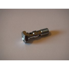 Chrome Plated Steel JIC Double Banjo Bolt