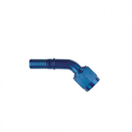 -08 60° Swage Hose End Brazed