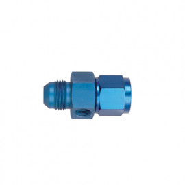 Adaptor 3/4 JIC (-08) Male to Female 1/8 NPT in Hex