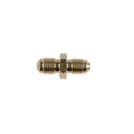 Zinc Plated Steel JIC Male to (CONVEX) Metric Male Adaptor