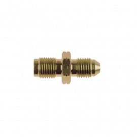 Zinc Plated Steel JIC Male to (CONCAVE) Metric Male Adaptor