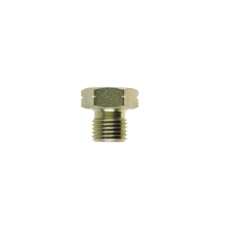 Zinc Plated Steel BSP Plug