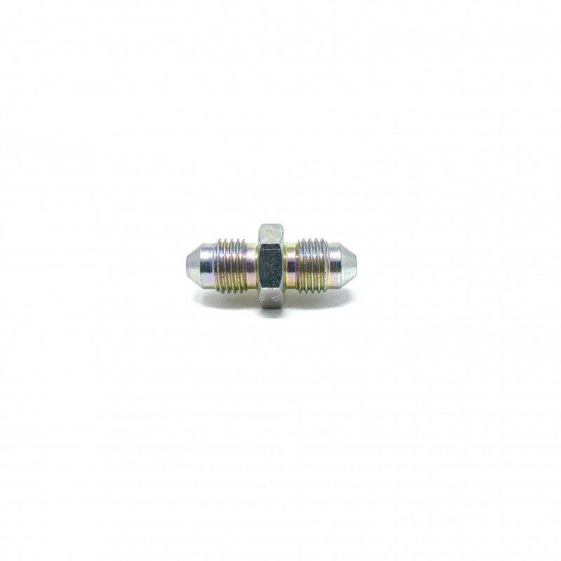 Zinc Plated Steel Equal Male to Male Adaptor