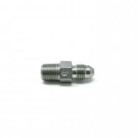 Zinc Plated Steel NPT to JIC Male to Male Adaptor