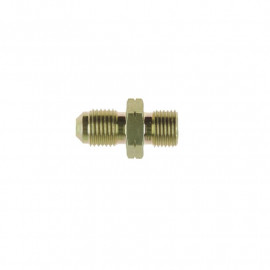 Zinc Plated Steel BSP male to Metric male Adaptor