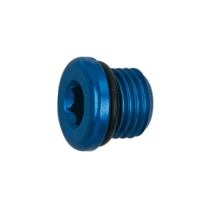 Anodised Aluminium JIC Port Plug (Socket Hex)
