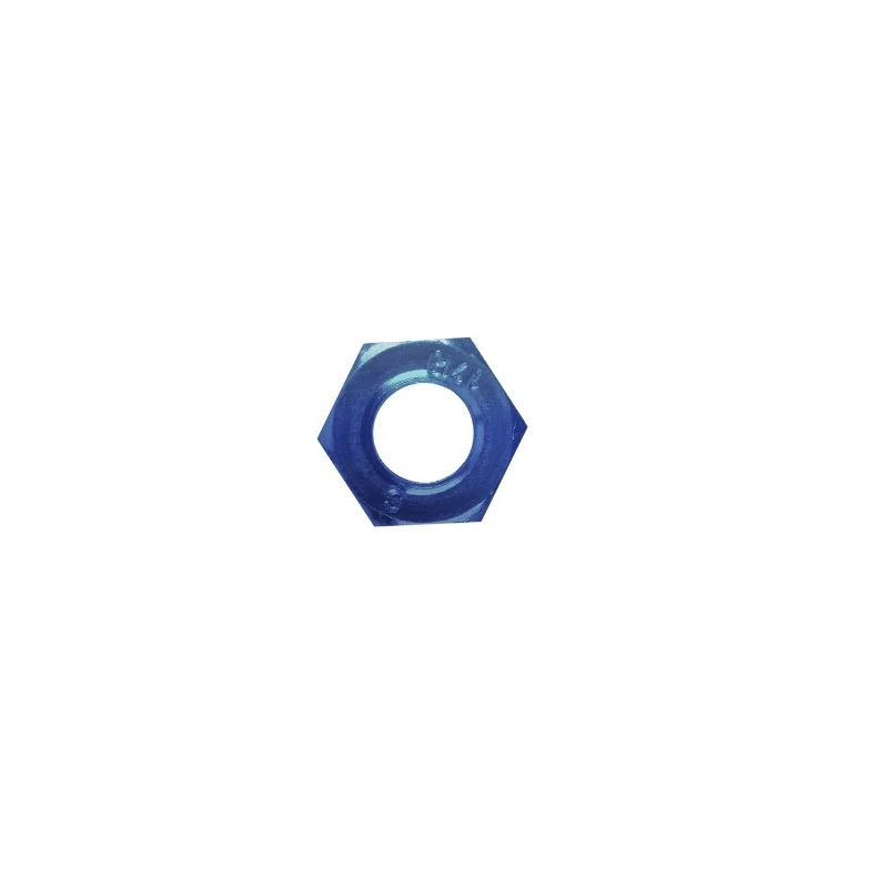 Anodised Aluminium JIC Locking Nut