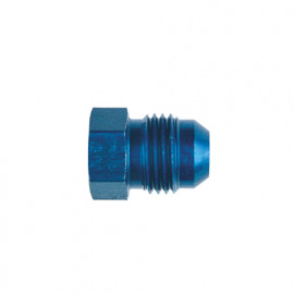 Anodised Aluminium JIC Plug