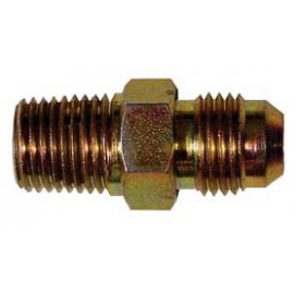 Zinc Plated Steel NPT to JIC Male to Male Adaptor