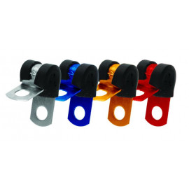Anodized Aluminium P Clip Tube Clamp