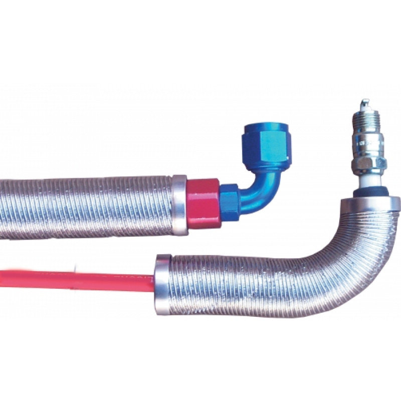 "Thermo-Flex Plug Wire Heat Shield (6""x1"" ID)"