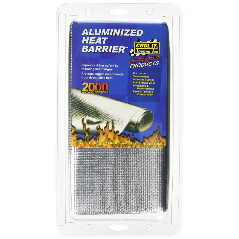 Aluminised Heat Barrier