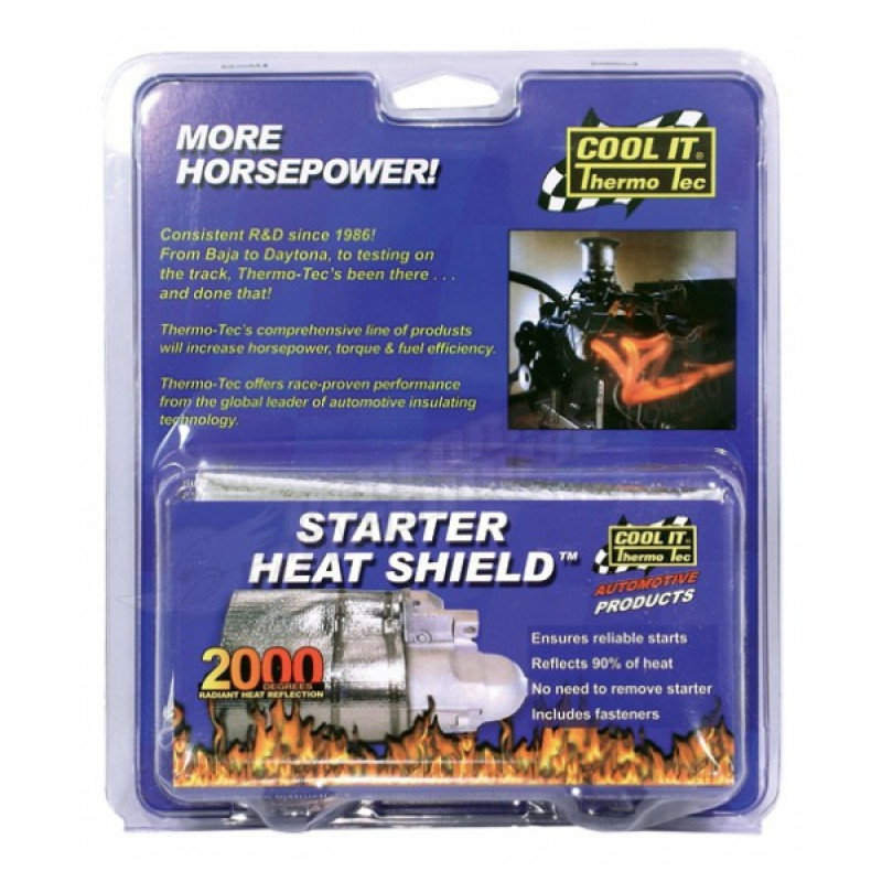 """Starter Motor Heat Shield 7"""" x 22"""""""