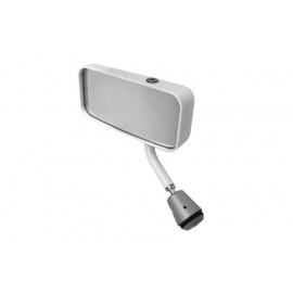Lifeline Formula Car Convex Mirror White MSA