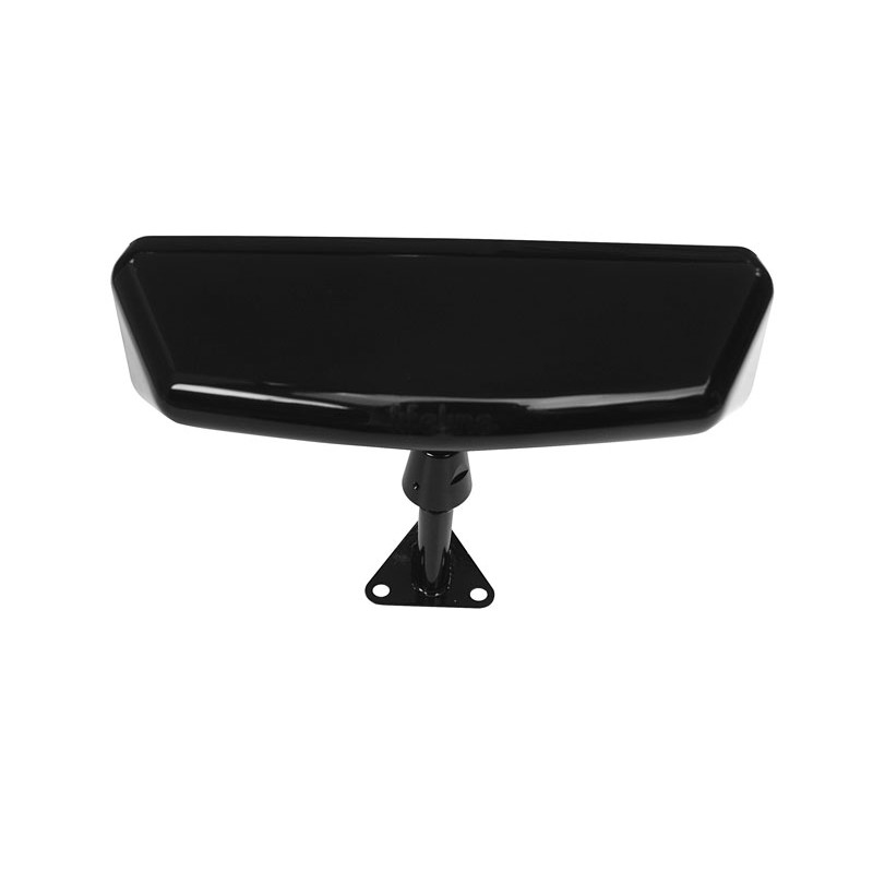 Lifeline Sports Car Convex Rear View Mirror Centre Mount In Black