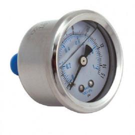 Liquid Filled Oil or Fuel Pressure Gauge PSI Reading