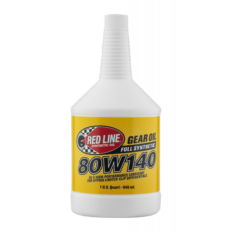 Red Line 80W140 GL-5 Gear Oil