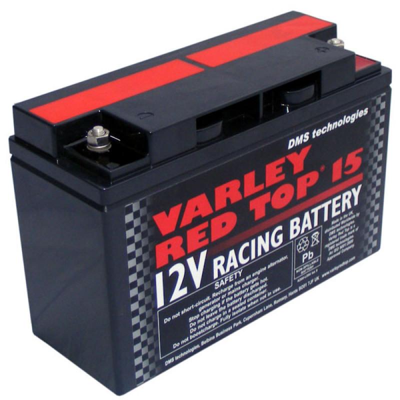 Varley Red Top 15 Racing Battery 12V 15AH