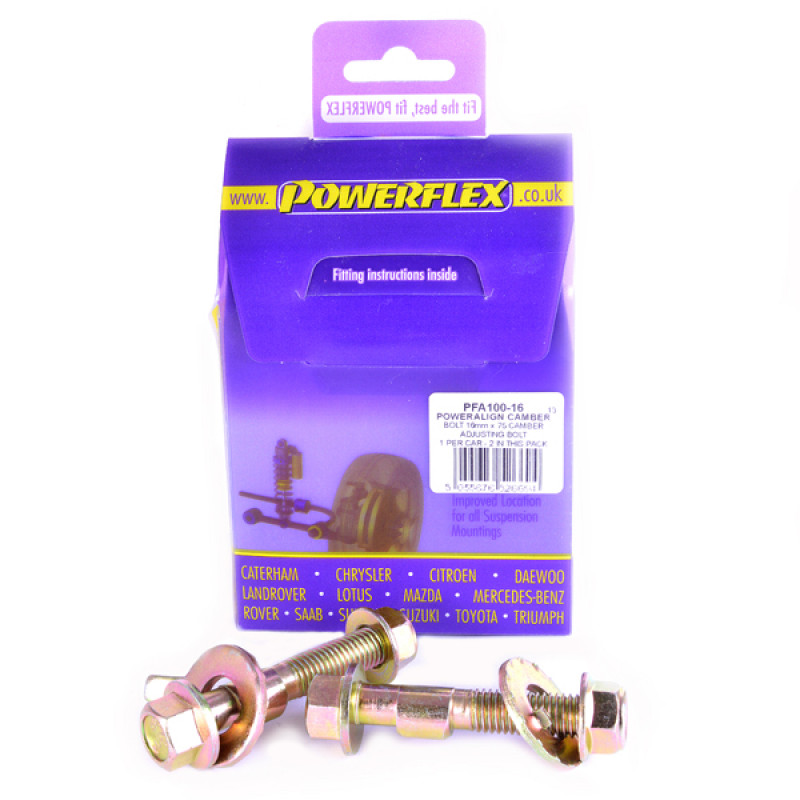 PowerAlign Camber Bolt Kit (16mm) [PFA100-16]